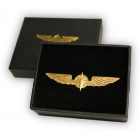Metal Gold Wings - Large