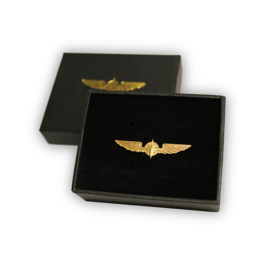Metal Gold Wings - Medium