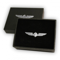 Metal Silver Wings - Medium