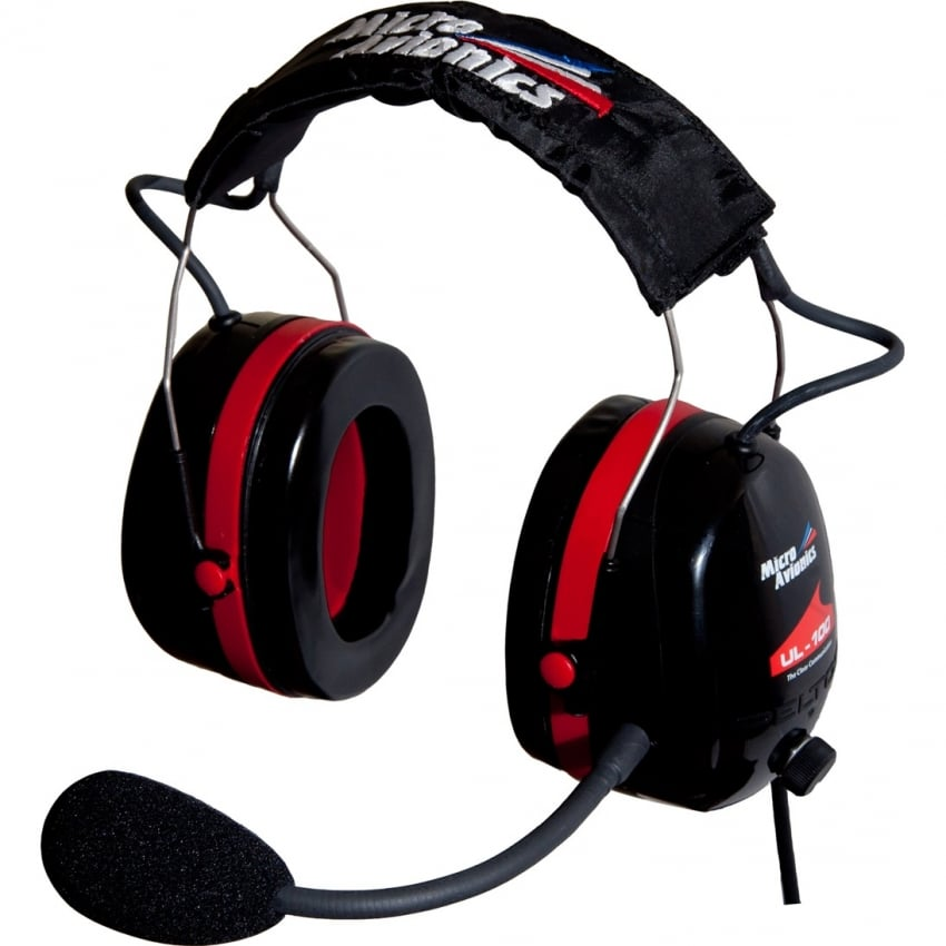 UL 100 Microlight Headset