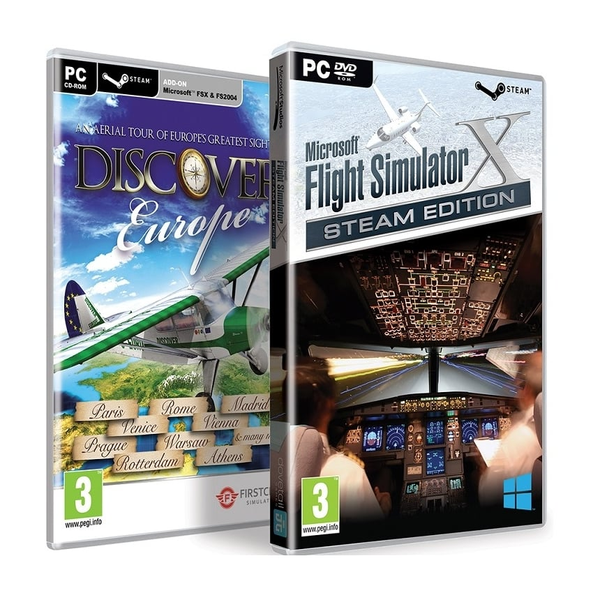 Flight Simulator X Steam & CD Edition