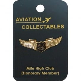 Mile High Club Pin Badge