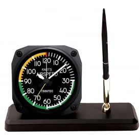 Modern Airspeed Clock and Pen Set