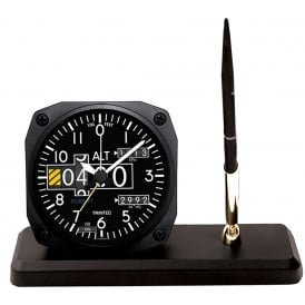 Modern Altimeter Clock and Pen Set