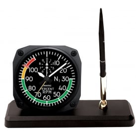 Modern RPM Clock and Pen Set