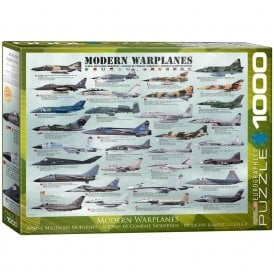 Modern Warplanes Jigsaw Puzzle (1000 pieces)