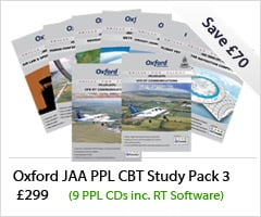 Oxford JAA PPL CBT Study Pack 3