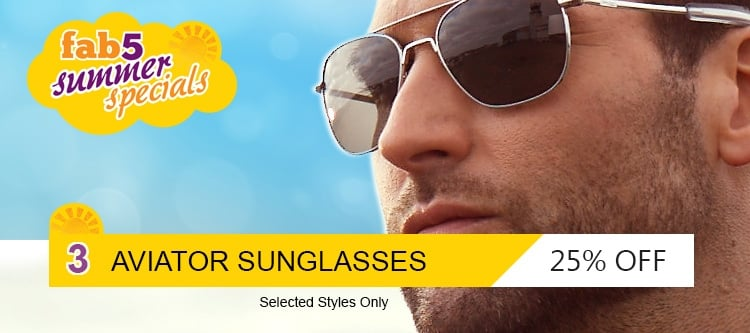 Sunglasses 25%