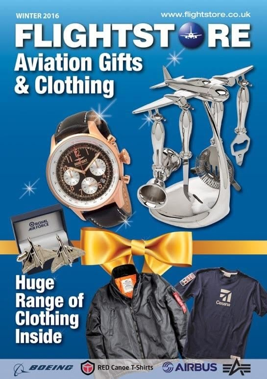 Aviation Gifts & Clothing Catalogue 2016