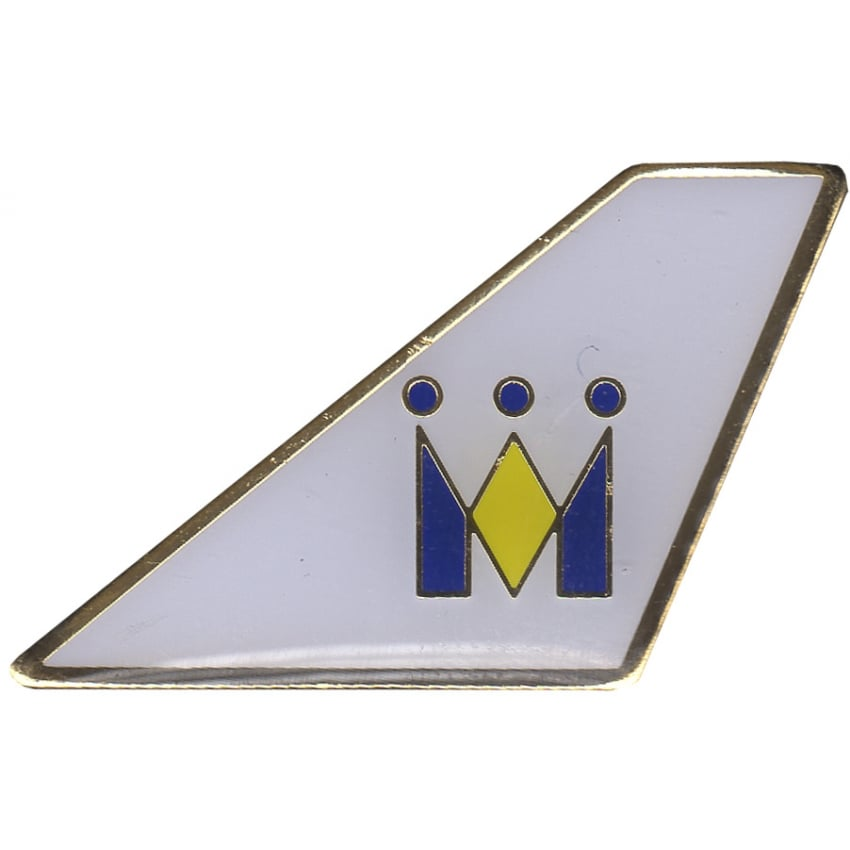 Monarch Airlines Tail Pin Badge