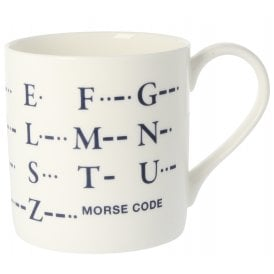 McLaggan Smith Morse Code Large Mug