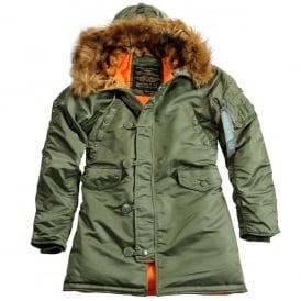 N3-B Ladies VF-59 Long Parka