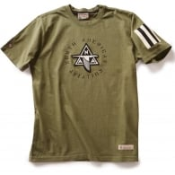 NAA Applique T-Shirt - Khaki