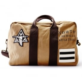 NAA P-51 Kit Bag - Tan with Dark Brown