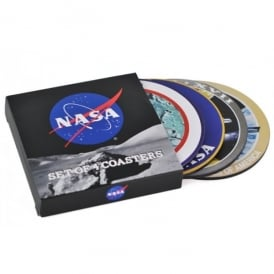 NASA Crew Coasters - Box of 4