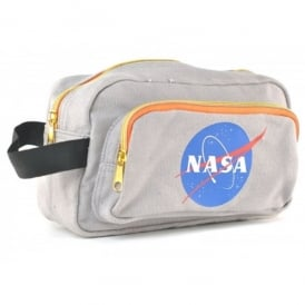 NASA Grey Washbag