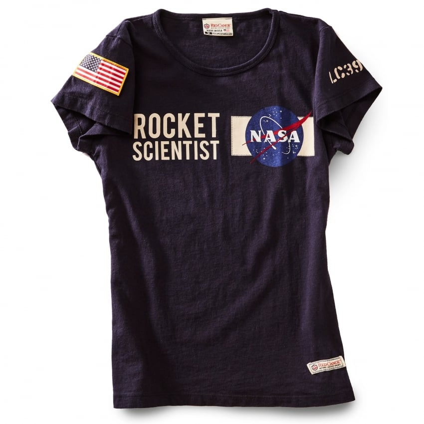 NASA Ladies T-Shirt in Navy