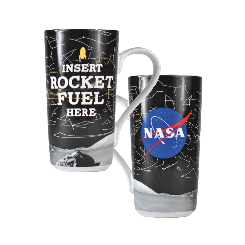 NASA Latte Rocket Fuel Mug