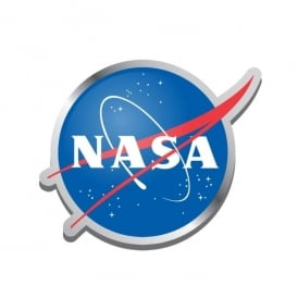 Half Moon Bay NASA Logo Enamel Pin Badge