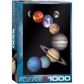 NASA Solar System Jigsaw Puzzle (1000 pieces)