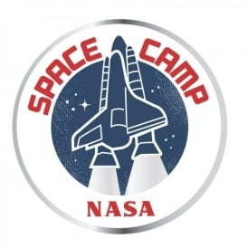NASA Space Camp Enamel Pin Badge