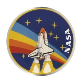 Half Moon Bay NASA STS-27 Enamel Pin Badge