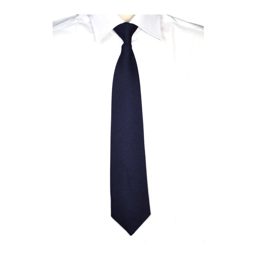 Navy Full Length Tie