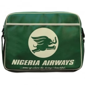 LogoBags Nigeria Airways Airline Sports Bag in Green