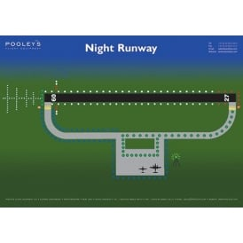 Night Runway Poster