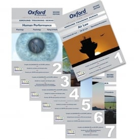 Oxford Aviation PPL Manuals 1- 7 Study Pack