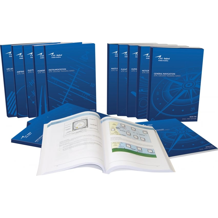 Oxford EASA ATPL Manuals Complete Set