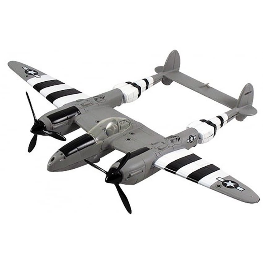 P-38 Lightning Die Cast Model Aircraft - Scale 1:60