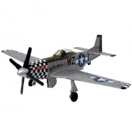 Gifts For Aviators P-51 Mustang Die Cast Scale Model Aircraft