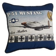 P-51 Mustang Filled Cushion