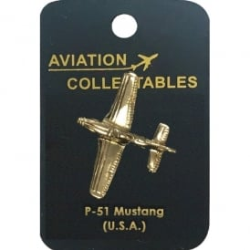 P-51 Mustang Pin Badge