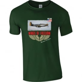 P-51 Mustang Wings of Freedom T-Shirt