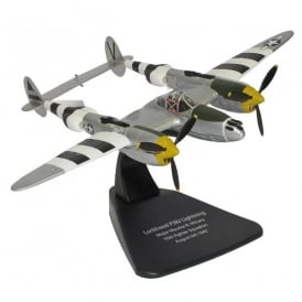 Oxford DieCast P38J Lightning Diecast Model - Scale 1:72