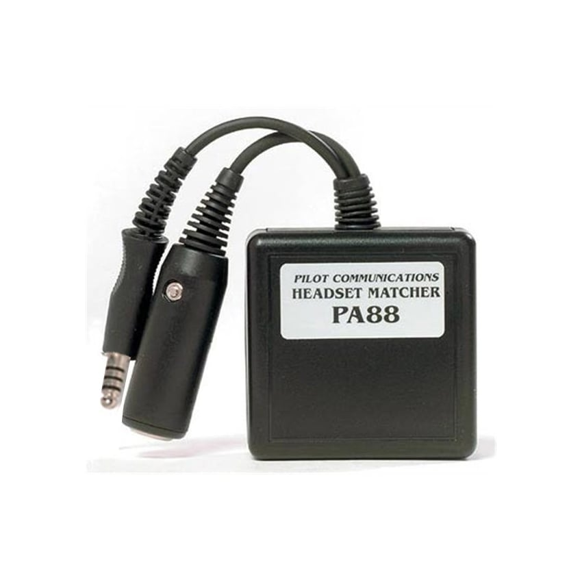 PA88 Headset Matcher for R44 Helicopter