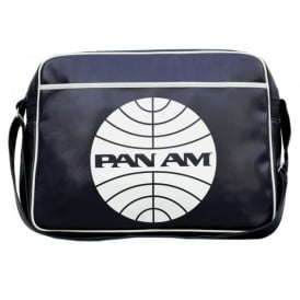 LogoBags Pan Am Airline Sports Bag In Deep Navy