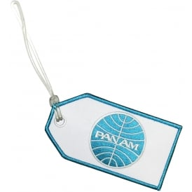 Pan Am Embroidered Baggage Tag