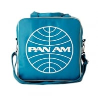 Pan Am Globe Airline Record Bag in Turquoise