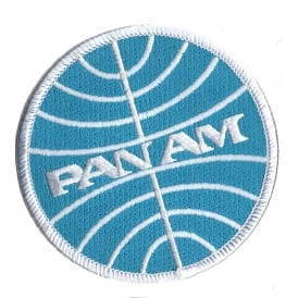 Pan Am Logo Iron on Patch