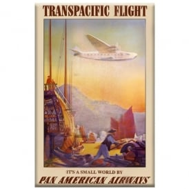 Pan American Transpacific Fridge Magnet