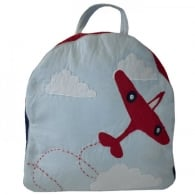Patchwork Planes Ruck Sack