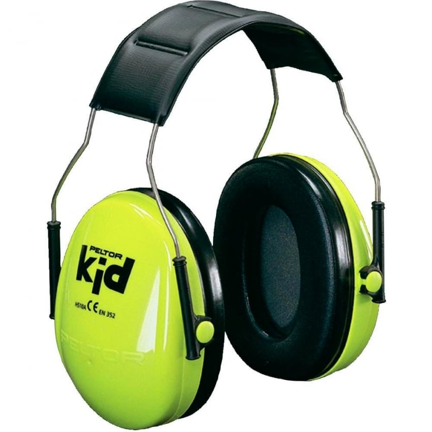 Yellow Childs Ear Defenders