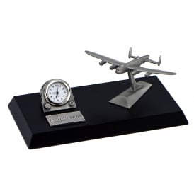 Pewter Desk Clock - Lancaster