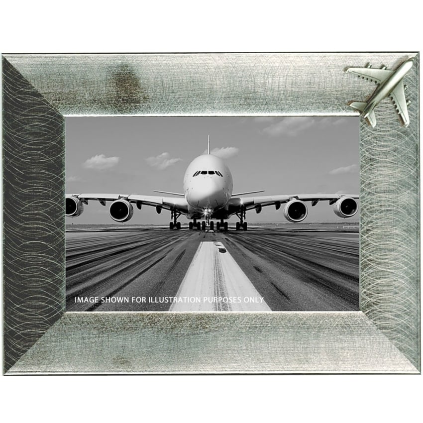 Pewter Photo Frame - Airbus A380