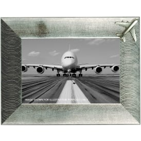 Clivedon Pewter Photo Frame - Airbus A380