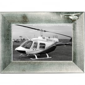 Clivedon Pewter Photo Frame - Bell 206