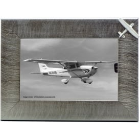 Pewter Photo Frame - Cessna 150/172